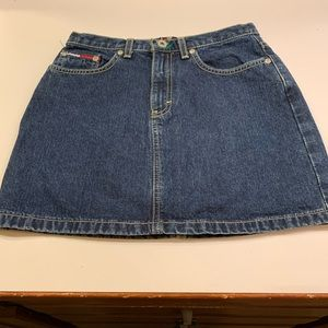 Tommy Hilfiger Dark Denim Jean skirt size 12